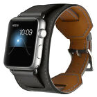 Genuine Leather Watch Strap Bracelet Wrist Band For Apple Watch 2/3/4/5 38/42mm