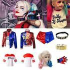 Adult & Kids Harley Quinn Cosplay Costume Suicide Squad Halloween Fancy Dress ^^ £20.88 GBP on eBay