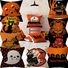 Halloween Pumpkin Throw Pillow Cover Pillowcases Decorative Sofa Cushion Cover