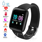 Smart Watch Bracelet Wristband Fitness Tracker Blood Pressure Heart Rate Monitor