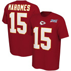 Patrick Mahomes Kansas City Chiefs NFL 100th Season Player Pride T-Shirt Men's $25.95 USD on eBay