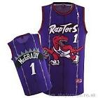 Tracy Mcgrady #1 Toronto Raptors Classic Purple Throwback Swingman Jersey