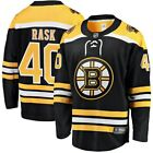 Tuukka Rask 40 Boston Bruins Black  Yellow Hockey Jersey