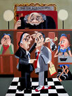 Order In The Court Giclee Stretched Canvas Judge Lawyers Court Anthony R Falbo