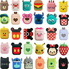 3D Q Cartoon Earphone Protective Silicone Cover For Apple Airpods Charging Cases $7.46  on eBay