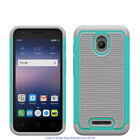 For Alcatel Phone Cases,Heavy Duty Dual Layer Armored Protective Hybrid Case
