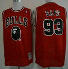 Chicago Bulls #93 Snoop Dogg Red Basketball Jersey Size: S - XXL on eBay