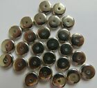 50 - 100 8mm Silver Discs//Beads. 1mm hole. Jewellery & Craft Making. UK Seller