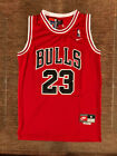 #23 Michael Jordan Chicago Bulls Throwback RED Jersey Men's or Youth on eBay