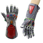 The Avengers 4&3 Endgame Tony Stark Infinity Gloves Iron Man Gauntlet Thanos Cos