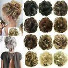 100% Natural Human Curly Messy Bun Hair Piece Scrunchie Updo Fake Hair Extension for sale  Shipping to South Africa