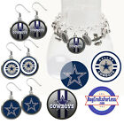 FREE DESIGN > DALLAS COWBOYS - Earrings, Pendant, Charm, Keyring <FAST SHIP> $2.99 USD on eBay