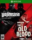 New Sealed Wolfenstein: The Two-Pack The New Order and Old Blood - Xbox One eq