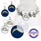 FREE DESIGN > LA CHARGERS - Earrings, Pendant, Charm, Keyring <FAST SHIP> $6.99 USD on eBay