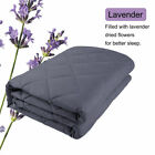 Premium Weighted Blanket Sleep Therapy Anxiety Blanket 10lbs-30lbs
