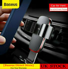 Baseus 360° Gravity Car Air Vent Mount Phone Holder For Samsung Iphone Huawei Uk
