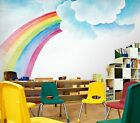 3D Cartoon Rainbow B15 Business Wallpaper Wall Mural Self-adhesive Commerce Zoe