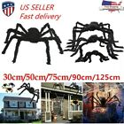 Giant-Spider Props Halloween Decoration Black Haunted House Indoor Outdoor Decor