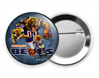 ANGRY RUNNING CHICAGO BEARS FOOTBALL TEAM PIN PINBACK BUTTON SPORT FAN GIFT IDEA $11.49 USD on eBay