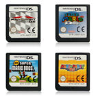 Super Mario Bros,mario Kart, Party, 64 game Card For nintendo Nds 3ds Dsi New