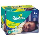 Pampers Swaddlers Overnights Diapers Size 3-6*BEST SERVICE AND SHIPPING*