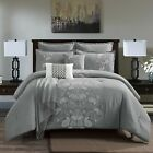 7 Piece Comforter Set - Complete Bed in a Bag King Queen Cal King