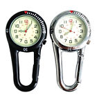 Carabiner Clip on Belt Watches Fob Sports Watch For Doctors Sports Hikers Supply