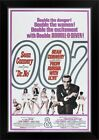 Dr. No/From Russia With Love - Vintage Black Framed Wall Art Print, Movie Home $72.24 USD on eBay