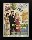 From Russia with Love - Vintage Movie Black Framed Wall Art Print, Movie Home $46.74 USD on eBay
