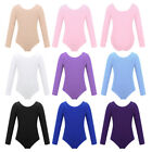 Kyпить Girls Kids Ballet Gymnastics Long Sleeve Leotards Bodysuit Dancee Wear Costumes на еВаy.соm