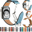 Apple Watch Band Strap Single Tour for Series 654321 Genuine Leather Herme Belt
