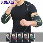 2x Elbow Support Brace Compression Sleeve Joint Tendon Arthritis Arm Pain Relief