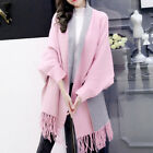 Women Elegant Cardigan Shawl Wrap Sweater for Fall Winter