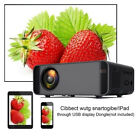 Home Theater Cinema HD-MI USB TF AV Full HD 1080P Mini LED Projector