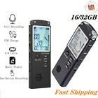 32G Voice Recorder Mini Digital Sound Audio Dictaphone Rechargeable MP3 Record