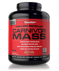 MuscleMeds CARNIVOR MASS High 6 Lb Beef Protein Gainer Pro Gainer XXL $44.3 USD on eBay