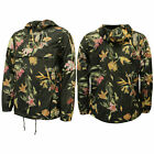 Vans Off The Wall Egan Death Bloom Mens Rain Jacket Floral Black V2M0H8D X20A