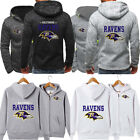 Baltimore Ravens Hoodie Football Hooded Sweatshirt Fleece Jacket Gift For Fans $31.37 CAD on eBay