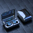 Bluetooth 5.0 Earbuds Wireless Earphones TWS Stereo Deep Bass in-Ear Headphones