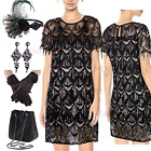 1920s Flapper Dress Gatsby Wedding Prom Evening Tassel Cocktail Party Dress 4-14