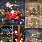 Merry Christmas Removable Window Stickers Festival Art Decal Wall Home Shop Xmas