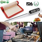 Electronic Meat Thermometer Kitchen Automatic Shutoff Digital For BBQ Cook Bath