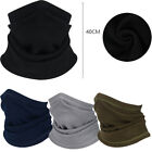Mens Winter Fleece Balaclava Thermal Motorcycle Ski Neck Wamer Half Face Mask
