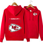 Kansas City Chiefs Sweatshirts Hooded Hoodies Pullover Fan Team Men Women $23.74 USD on eBay