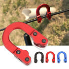 JN  Metal Archery Nocking D Loop Rope String Cord Bow Arrow Shooting Part Tool