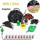 82 Feet Diy Micro Drip Irrigation System Plant Self Watering Garden Hose Kit 25m