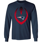 Details about  Men's New England Patriots Football Long Sleeve Navy T-Shirt $9.11 USD on eBay