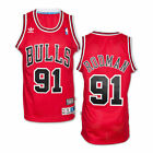 Dennis Rodman #91 Red Chicago Bulls Retro Classic Swingman Jersey