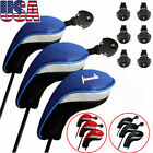 Golf Club Hybrid Headcovers for Wood Driver  Long Neck Head Covers 3 Colors