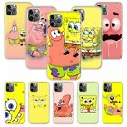 Spongebob Best friends Soft Case For iPhone 11 Pro XS Max XR X 6 7 8 plus SE2020 $4.36 USD on eBay
